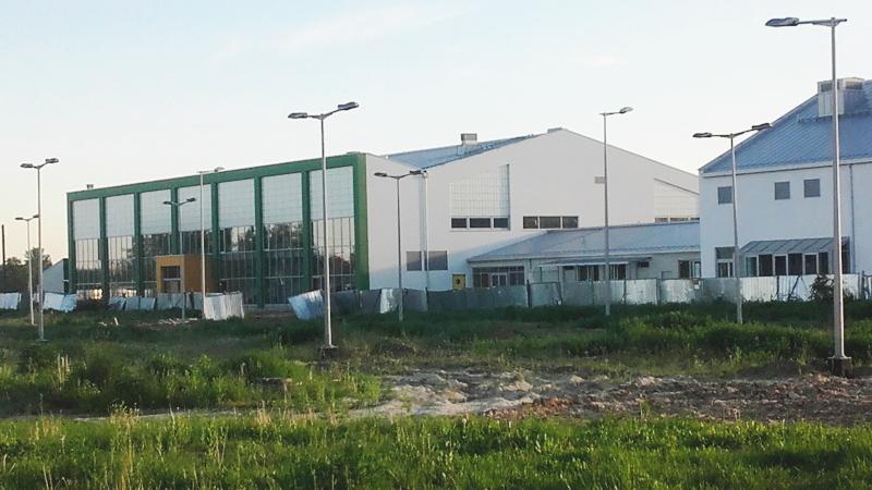 szkoła w budowie - czerwiec 2017